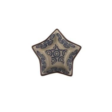 Aryıldız Orient Sd Küçük Boy Lacivert Yıldız Fırın Kabı Lacivert